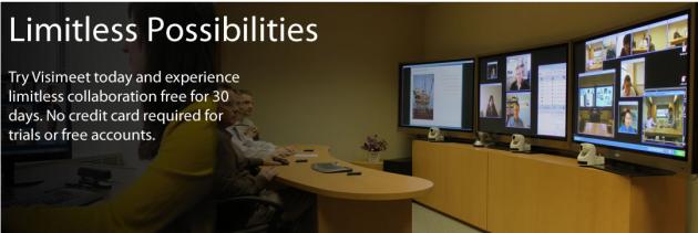 Visimeet video conferencing